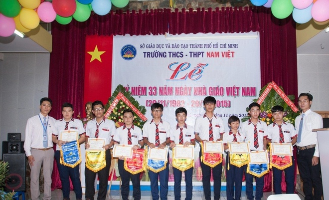 Chang duong 5 nam phat trien cua truong THPT Nam Viet hinh anh 1