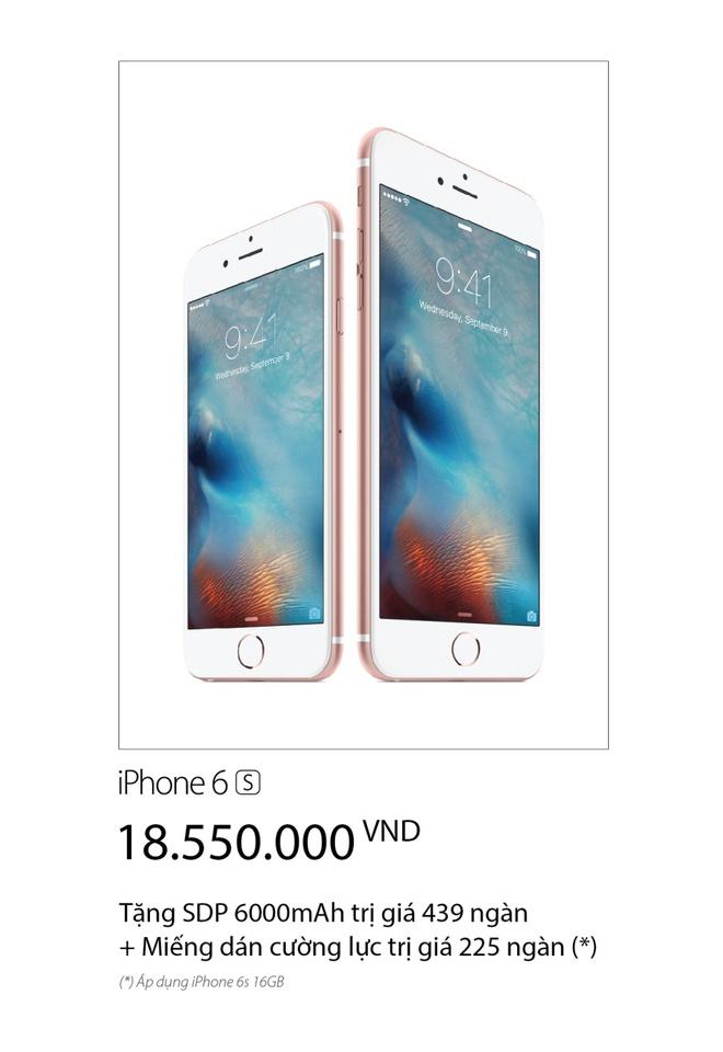 Vien Thong A: Mua iPhone 6S 16 GB tra gop 800.000 dong/thang hinh anh 2
