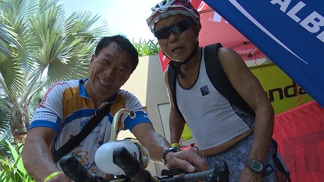Quyet tam cua lao tuong 78 tuoi tai Ironman 70.3 Viet Nam hinh anh