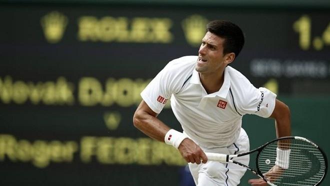 Game dau keo dai tren 7 phut cua Djokovic va Federer hinh anh