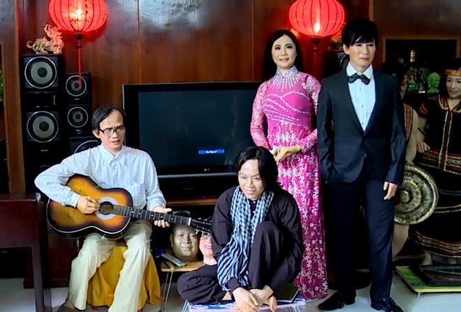 Tuong sap Hoai Linh - Ly Hai nhu that o Sai Gon hinh anh