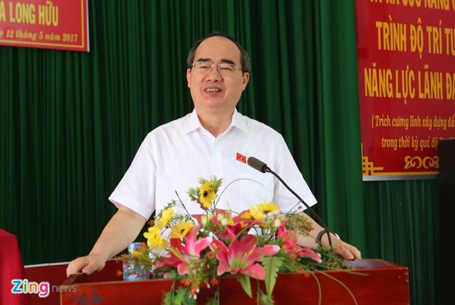 Ong Nguyen Thien Nhan: Xu ly tham nhung khong co vung cam hinh anh
