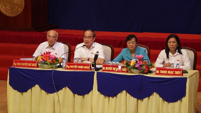 Bi thu Nguyen Thien Nhan: Neu ngoai ranh thi ba con khong phai di roi hinh anh