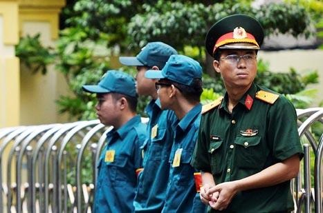 An ninh that chat tai phien xu Nguyen Huu Linh hinh anh