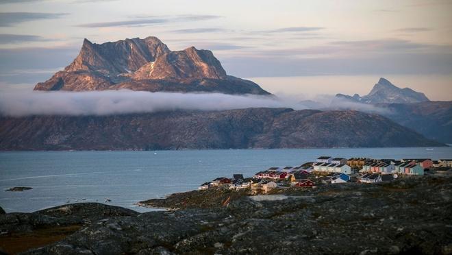 Cuoc song o xu bang gia Greenland hinh anh