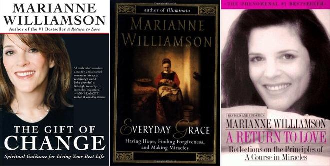 Nu ung vien tong thong My,  Marianne Williamson,  dang Dan chu anh 2
