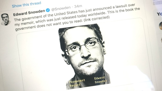 Hoi ki Edward Snowden,  Chinh phu My kien hoi ki Snowden,  Cuu diep vien My,  Hoat dong CIA,  NSA anh 2