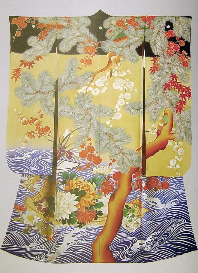 Kimono; Thoi trang quoc te; Sao Hollywood; Giorgio Armani; Chanel; Nike anh 3
