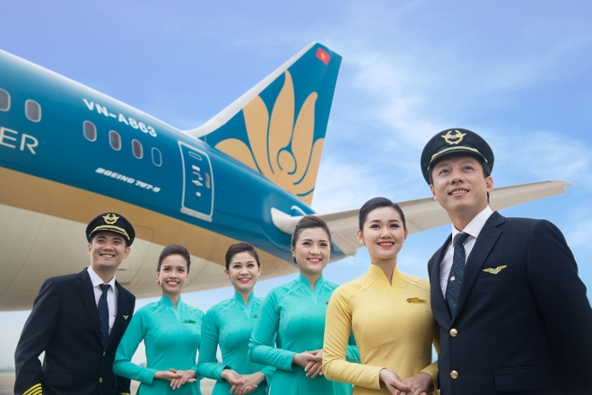 Vietnam Airlines dat loi nhuan ky luc gan 2.500 ty dong hinh anh