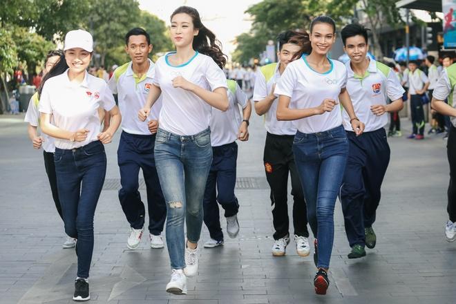 Do My Linh rang ro tham gia 'Ngay chay Olympic' hinh anh 1