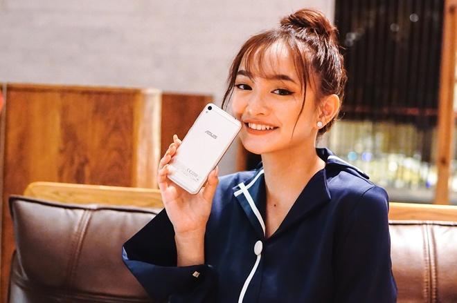Kaity Nguyen, Will lam guong mat dai dien cho ZenFone Live hinh anh