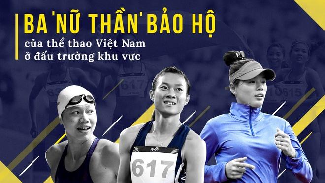 Ba 'nu than' bao ho cua the thao Viet Nam o dau truong khu vuc hinh anh