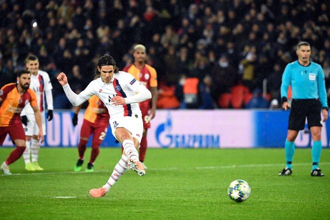 Atletico chieu mo Cavani theo dang mien phi hinh anh 1 Edinson-Cavani-penalty-kick-PSG-vs-Galatasaray-Champions-League-2019.jpg