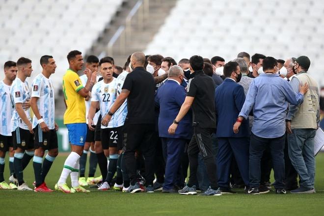 Argentina vs Brazil anh 1