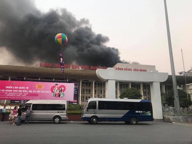 Cháy cung Văn hóa hữu nghị Việt Xô