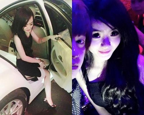 Em gai Angela Phuong Trinh 'quay' trong bar hinh anh