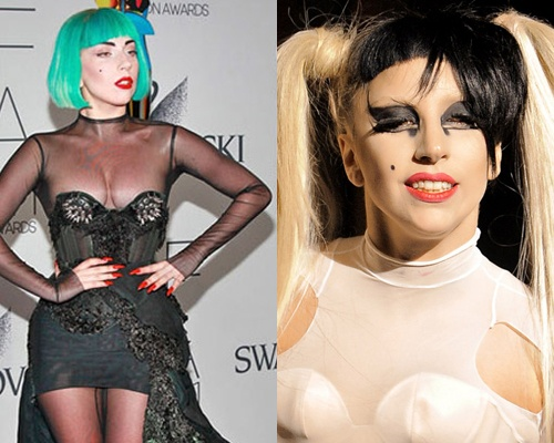 Cam hung dien do Halloween tu 'nu quai' Lady Gaga hinh anh