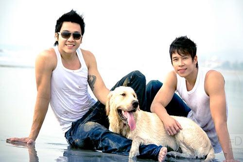 Fan xon xao vi nghi Le Hoang The Men co con trai hinh anh 5