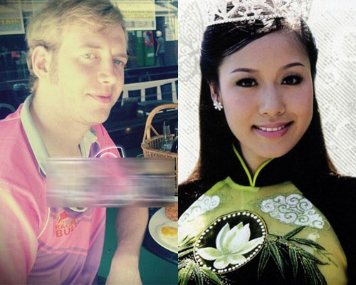 He lo chong Tay sap cuoi cua hoa hau Ngo Phuong Lan hinh anh