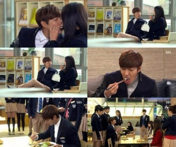 Nhung 'canh nong' trong phim 'The Heirs' hinh anh 6