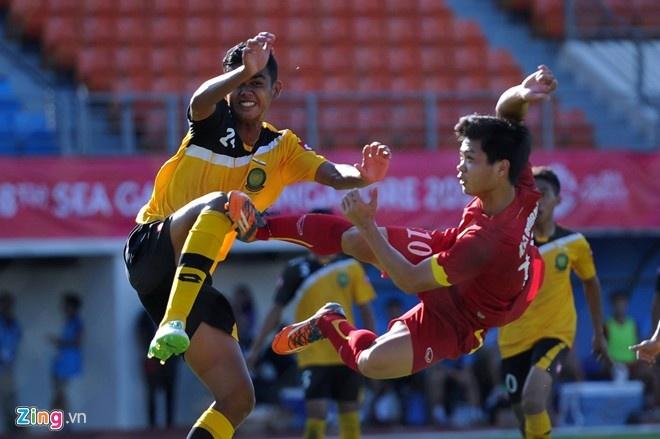 'Tut cam xuc khi xem U23 Viet Nam - Brunei' hinh anh