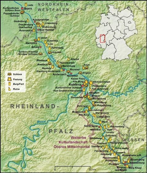 Nhung thanh pho co ben bo song Rhine hinh anh 3