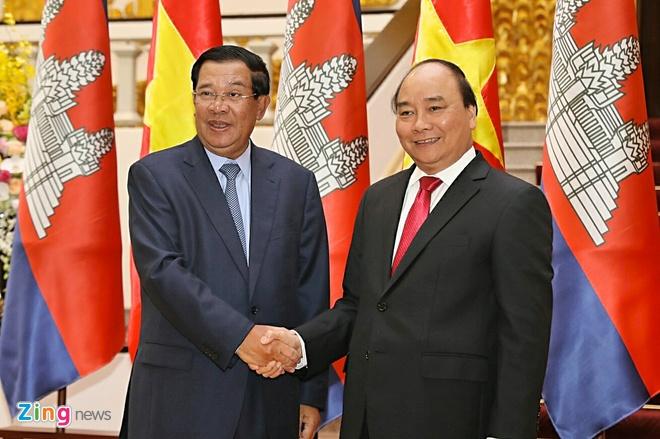 Thu tuong Campuchia Hun Sen tham chinh thuc Viet Nam hinh anh 1