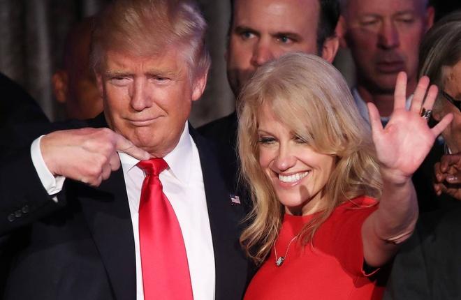 Trump chon nu phu ta than can lam tro ly tong thong hinh anh 1