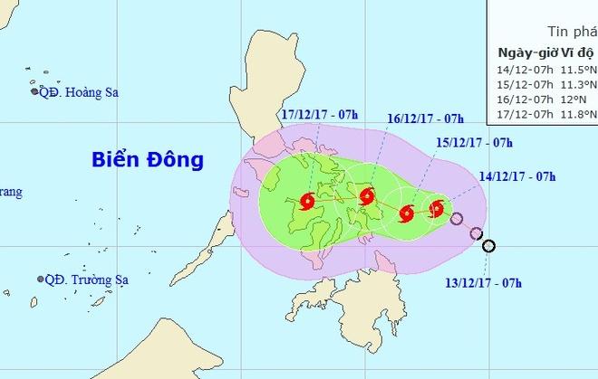 Bao Kai-tak ap sat Bien Dong hinh anh 1