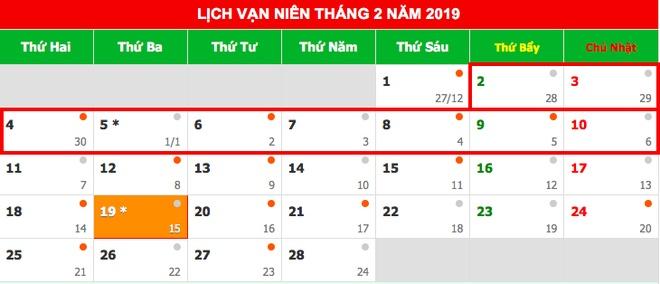 Co the nghi 9 ngay dip Tet Nguyen dan 2019 hinh anh 2