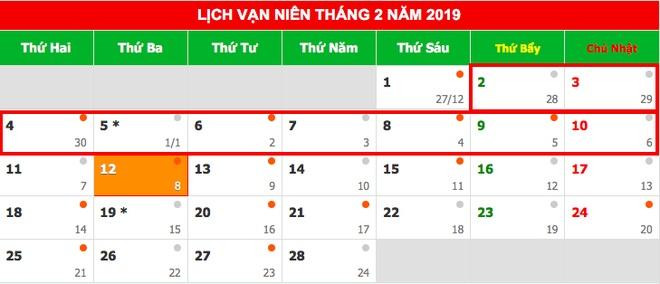 Thu tuong chot phuong an nghi 9 ngay dip Tet Nguyen dan Ky Hoi 2019