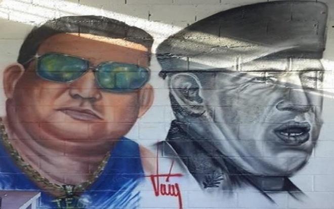 Ong trum bang dang thiet lap trat tu trong nha tu o Venezuela hinh anh