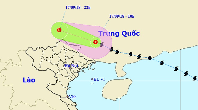 Bao so 6 - Mangkhut tan tren dat lien Trung Quoc hinh anh