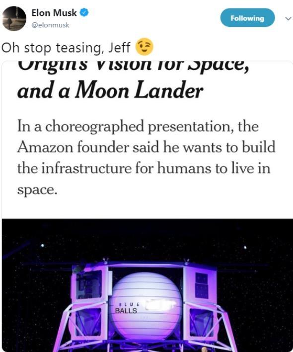 Elon Musk da deu tau vu tru moi cua Jeff Bezos anh 1