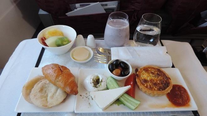 Khám phá bữa ăn sang chảnh của các hãng hàng không nổi tiếng