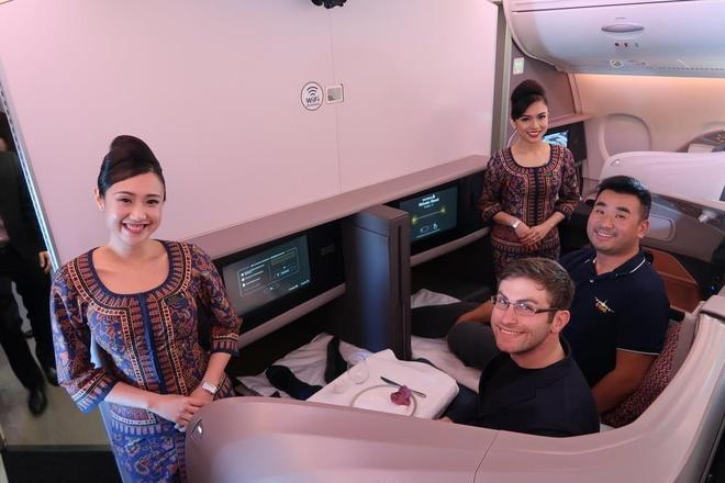 Kham pha 'lo luyen chan dai' Singapore Airlines hinh anh 10