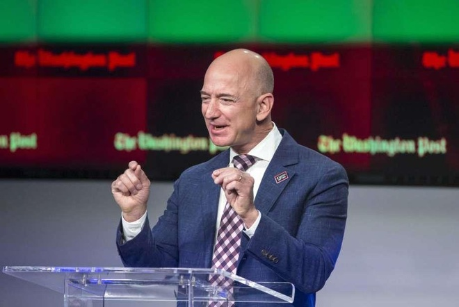 Jeff Bezos tiep tuc xa co phieu Amazon, thu gan 3 ty USD tien mat hinh anh 1