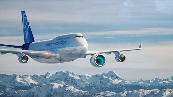 Sau nghỉ hưu, Boeing 747 trở thành 'chuột bạch' thử động cơ mới