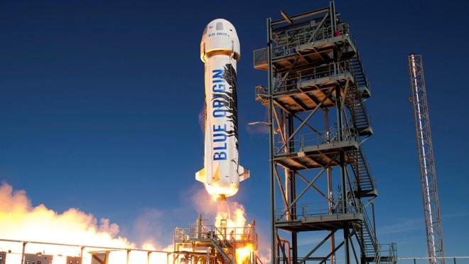 Jeff Bezos phong ten lua gui nghin la thu len vu tru hinh anh 1 blue-origin-new-shepard-experiment-research-jeff-bezos-texas-launch-reusable.jpg