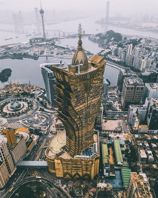 Ngam toa nha cao nhat Macau cua 'vua song bac' Ha Hong San hinh anh 1 1_1.jpg