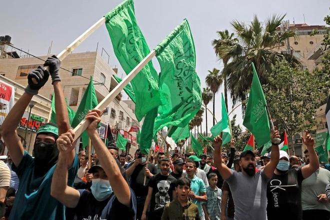 ung ho Hamas,  Palestine,  Israel anh 1