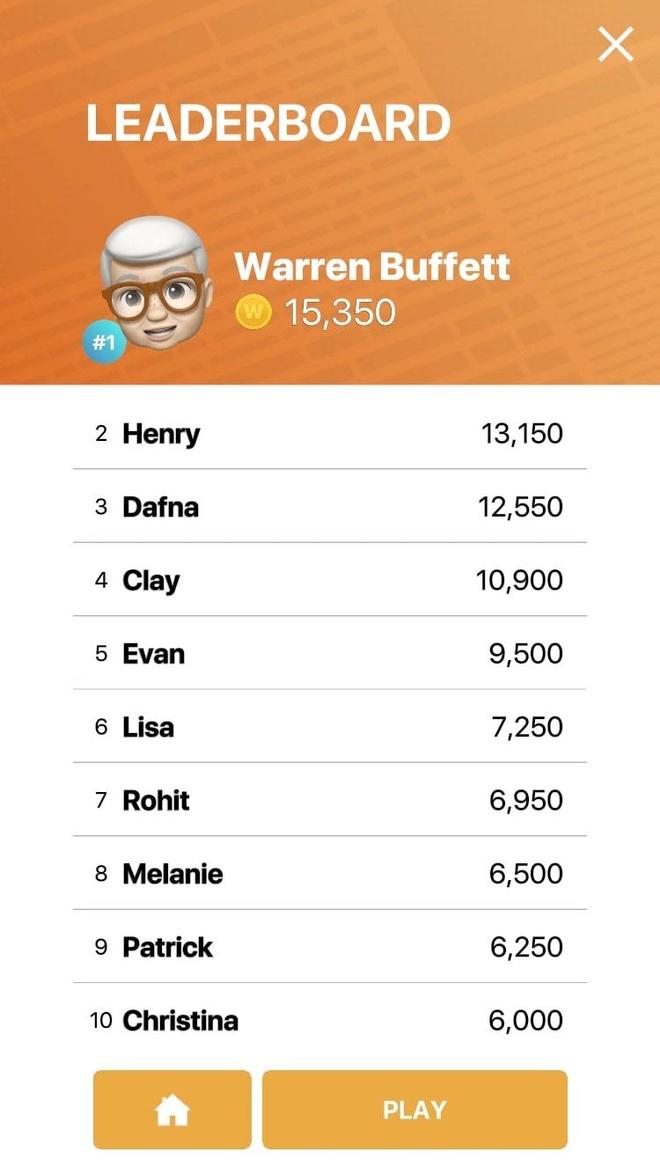 Apple tung tro choi lay cam hung tu ty phu Warren Buffett hinh anh 1