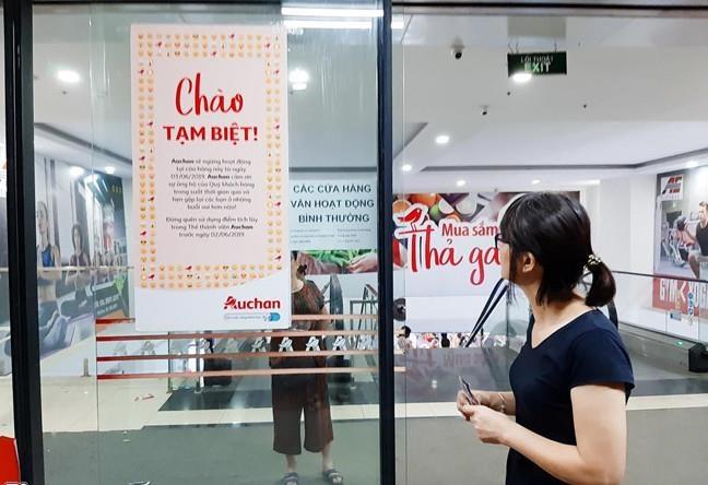 Auchan chinh thuc dong cua 15 sieu thi tai Viet Nam hinh anh 1