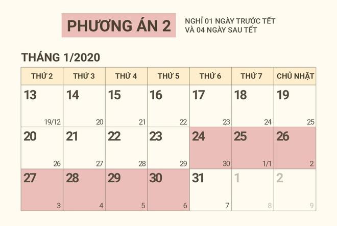 Hai phuong an nghi Tet Nguyen dan 2020 hinh anh 2