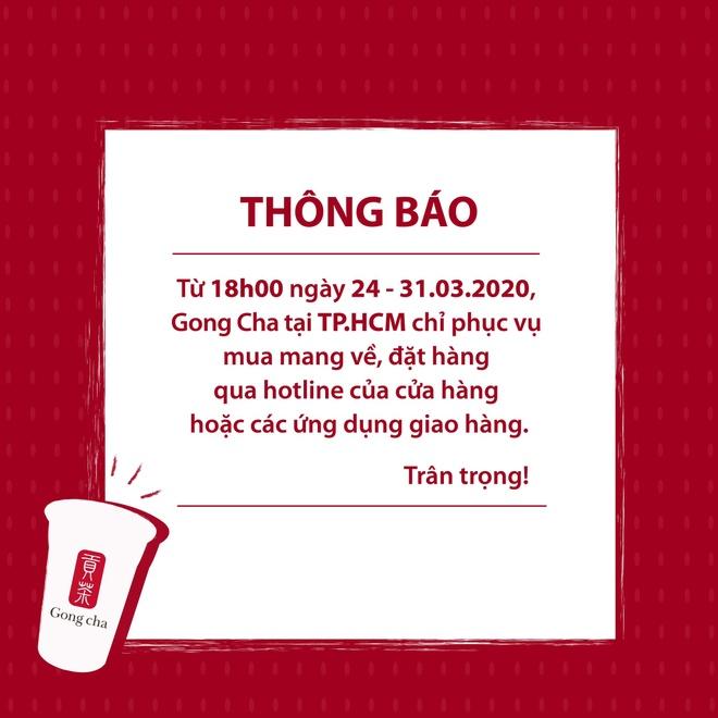 Gong Cha chuyen sang giao hang mang ve den het 31/3 hinh anh 1 gongcha.jpg