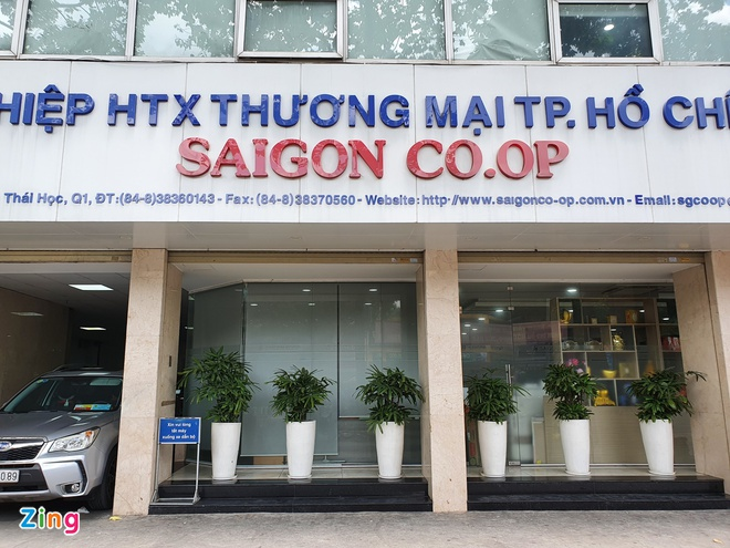 Rui ro phap ly cho Saigon Co.op sau thanh tra anh 1