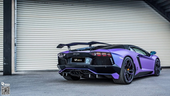Lamborghini Aventador Rong tim duy nhat tren the gioi hinh anh 2
