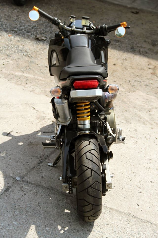 Honda MSX 125 dung dong co Ducati 1199 Panigale hinh anh 8