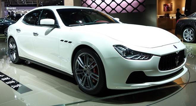 E am, Maserati lai dung san xuat xe hinh anh