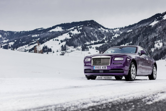 Rolls-Royce Wraith mau tim doc nhat the gioi hinh anh 1